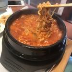 白釜飯 純豆腐火鍋 まん馬 -