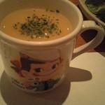 11688520 - スープのカップはバラバラ 今日はぺこちゃんでした^^