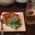 ラウンドアバウト - ササミのトマトソース煮