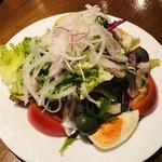スペインバルジローナ - スパニッシュサラダ