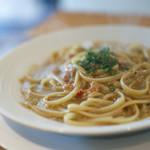 創作料理Ryota  - 料理写真:富山産ズワイガニとカニ味噌のリングイネ☆