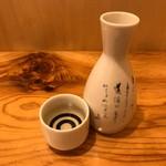 小伝馬 - 道灌山廃仕込特別純米(燗)600円税別