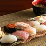 寿しの長三郎 - 料理写真:おまかせにぎり