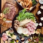 牛と豚と鶏の酒場 肉燻 - 料理写真:
