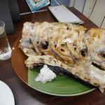 大衆酒場ドリーム - めかじきのアラ塩焼き300円