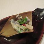 田惣 - 料理写真:春の木の芽あえ