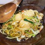 116901646 - この日の温物は里芋のカニあんかけ。これも美味かった!
