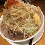 麺や 久二郎 - ラーメン小(780円)ヤサイ増し増し