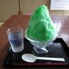 吉松駅前温泉 - 料理写真:かき氷(メロン) 250円 (2019.8)