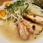 丸銀らーめん - 濃厚地鶏とんこつスペシャル 1,100円
