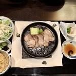 なごみ一席 成庵 - ランチの選択お肉のコース