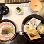 なごみ一席 成庵 - ランチの選択お魚のコース