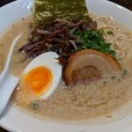 麺屋黒田 - とんこつ白ラーメン
