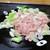 スタミナとん - 料理写真:とんちゃん 300円(以下 税別)× 4皿、好袋 300円 × 1皿 を大将が鉄板に広げます。      2019.10.04