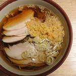 やなぎ庵 - 料理写真:かしわそば(2019.10)