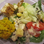 ブロンコビリー - 料理写真:サラダバーで取ったもの