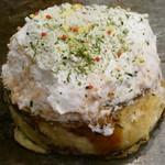 瀬戸内てっぱん堂 - 神戸スフレフロマージュお好み焼き(プレミアムチーズ)