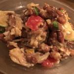 クリスチアノ - バカリャウとうずら豆のサラダ