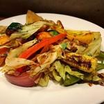 オステリアチードゥエ - 野菜のオーブン焼き