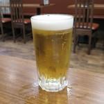 炭火串焼らいず - グラスビール