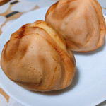 小布施 味麓庵 - 料理写真:福栗焼き   1つ320円 手のひらサイズ
