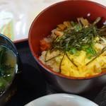 郷土料理 あさばな - 鶏飯@朝食バイキング