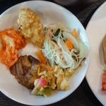 郷土料理 あさばな - 朝食バイキングの一例