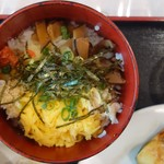 郷土料理 あさばな - 料理写真:鶏飯@朝食バイキング