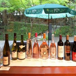 グラスワインも豊富に取り揃えております