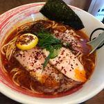 麺処 瓢たん - 料理写真:辛地鶏白湯麺 ¥880