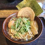 九十九里 麺ドラゴン - にぼし大盛り