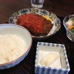 洋食 手嶋 - ・ミンチカツレツランチ