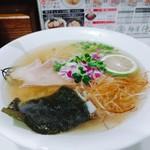麺屋 侍 - 料理写真:限定 あっさり秋刀魚淡麗塩ラーメン  小