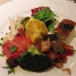 TRATTORIA IL Paladino - ランチの前菜