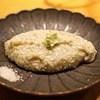 神山 - 料理写真:粗挽きそばがき