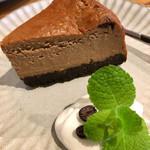 カフェ スイッチ - 珈琲チーズケーキ
