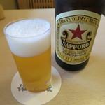 116943943 - 瓶ビール(サッポロラガービール)