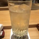 鮨 さかい - 山崎のハイボール
