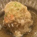鮨 さかい - 毛蟹の土佐酢ジュレ