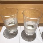 鮨 さかい - 吉川と東条の呑み比べ