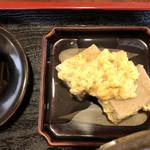 にしかわ - 高野豆腐の卵とじ