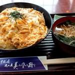 美登路 - 料理写真:きつね丼(750円)のごはん大(+200円)