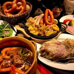 ヨーロピアンバル クル - 料理写真:宴会