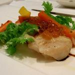イル・ソーニョ - たいらぎ貝の炙りカルパッチョ