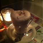 ボート カフェ - 白いココア