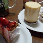 和洋菓子舗日影茶屋 - プリン、モンブラン、イチゴのタルト