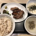 仙台牛たん 荒 - 牛タン定食 1800円
