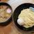 銀座 朧月 - 料理写真:濃厚つけ麺+味玉