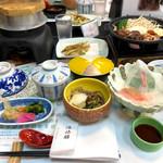 ホテル阿寒湖荘 - 料理写真:夜メニュー