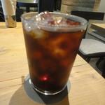 ピッツェリア&トラットリア ゴンゾ - アイスコーヒー